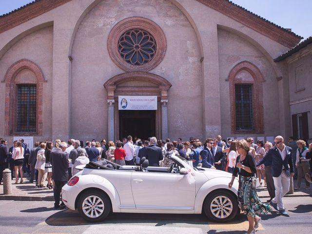 Il matrimonio di Matteo e Maristella a Vidigulfo, Pavia 39