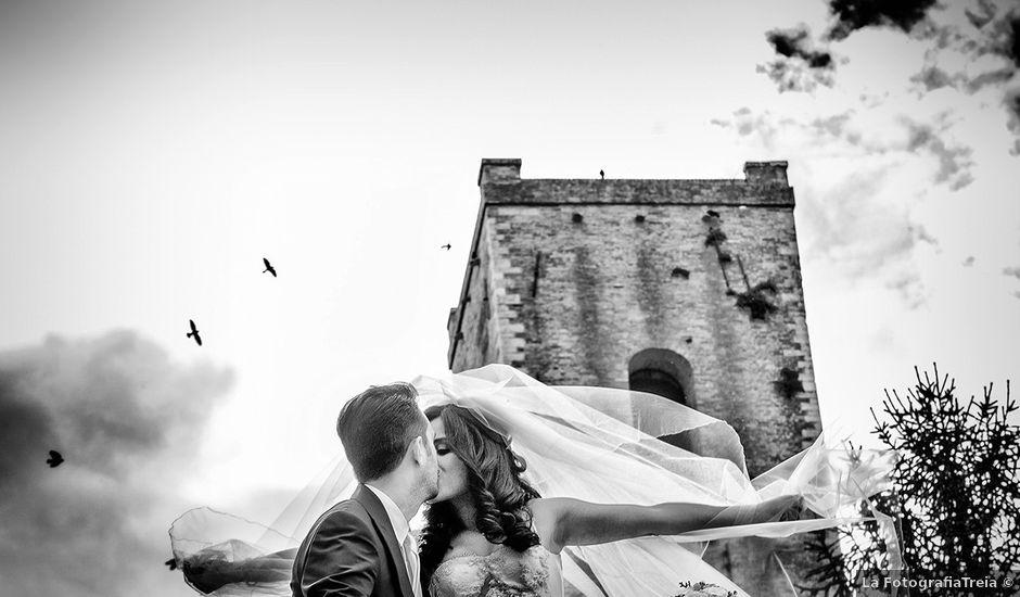 Il matrimonio di Matteo e Emma a Treia, Macerata
