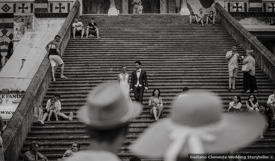 Il matrimonio di Antonio e Celeste a Amalfi, Salerno