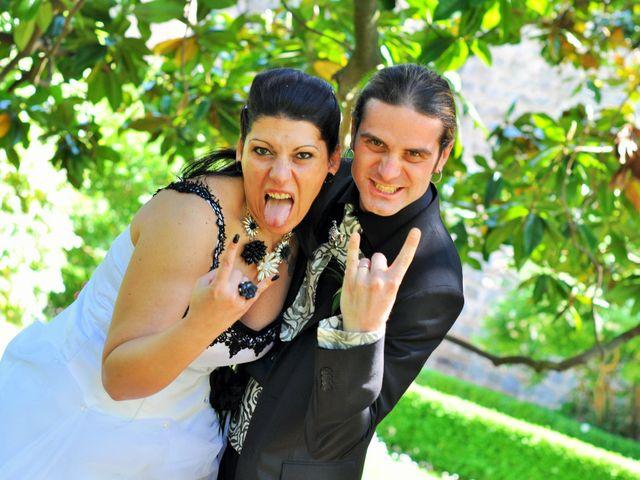 Le nozze di Isa e Danny
