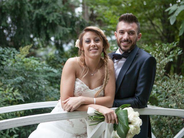 le nozze di Lucia e Stefano