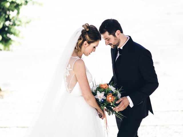 Le nozze di Antonella e Gianluca