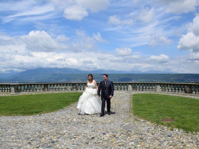 Il matrimonio di Sara e Luca a Roppolo, Biella 1