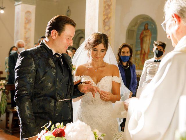 Il matrimonio di Giovanni e Silvia a Vinci, Firenze 25
