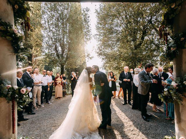 Il matrimonio di Giovanni e Silvia a Vinci, Firenze 26