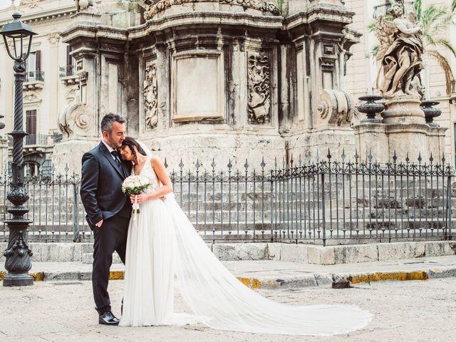 Il matrimonio di Gloria e Angelo a Palermo, Palermo 35