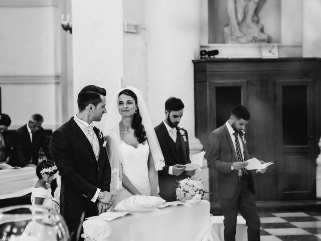 Il matrimonio di Davide e Grazia a Valeggio sul Mincio, Verona 16