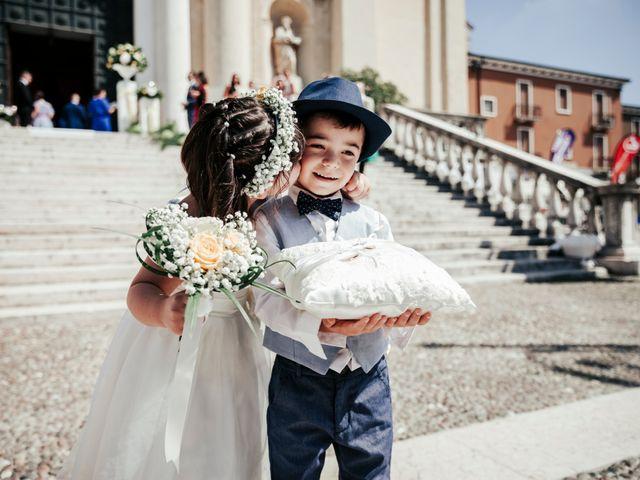 Il matrimonio di Davide e Grazia a Valeggio sul Mincio, Verona 50