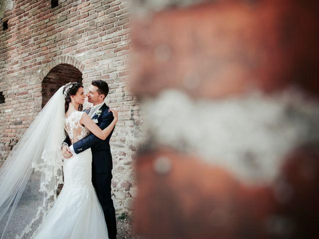 Il matrimonio di Davide e Grazia a Valeggio sul Mincio, Verona 57