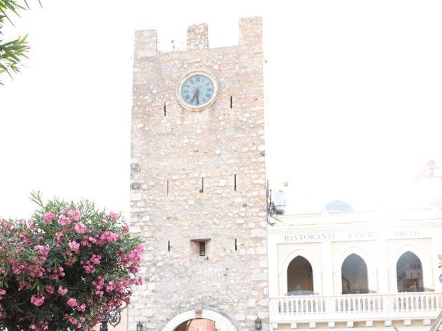 Il matrimonio di Dario e Valeria a Taormina, Messina 10