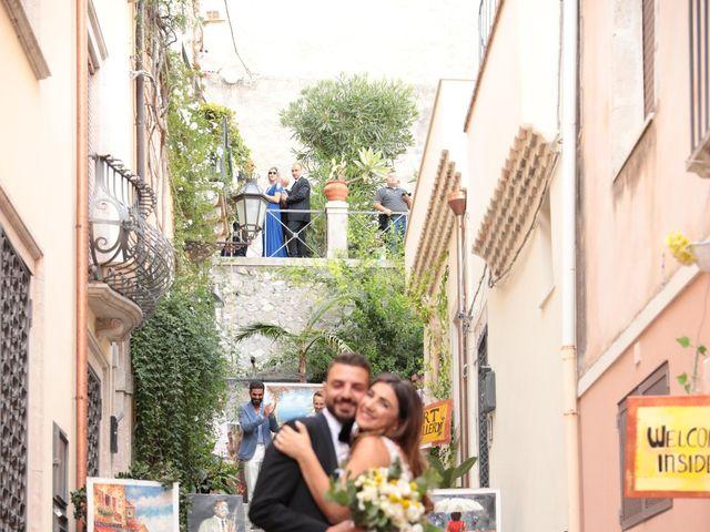Il matrimonio di Dario e Valeria a Taormina, Messina 12