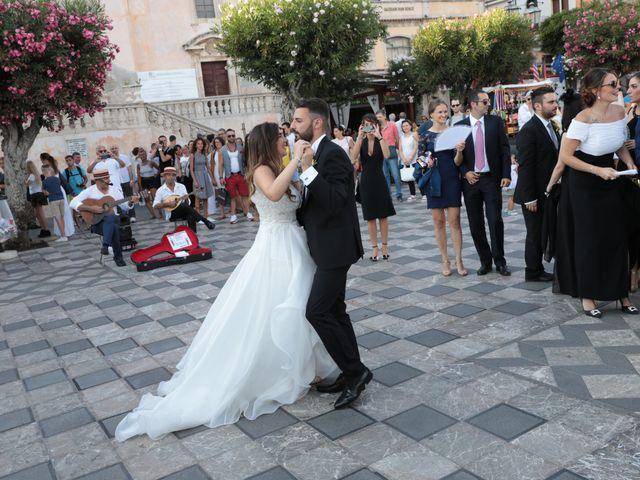 Il matrimonio di Dario e Valeria a Taormina, Messina 13