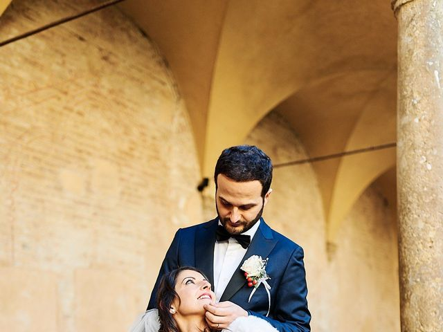 Il matrimonio di Francesco e Rossella a Colle di Val d'Elsa, Siena 51