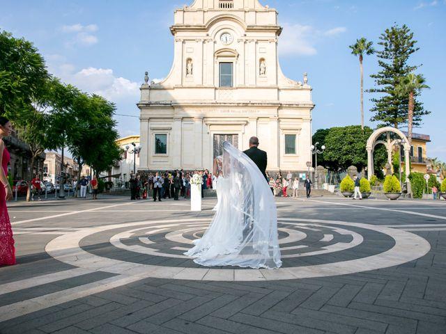 Il matrimonio di Federica e Alessio a San Giovanni la Punta, Catania 26
