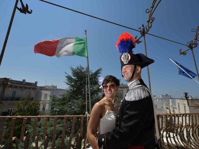Il matrimonio di Antonello e Grazia a Martina Franca, Taranto 9