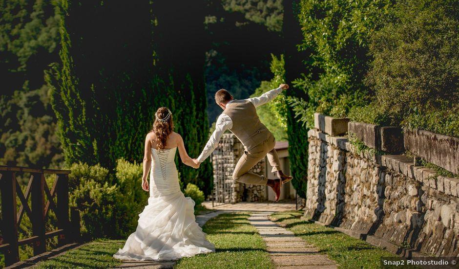 Il matrimonio di Dean e Michelle a Calolziocorte, Lecco