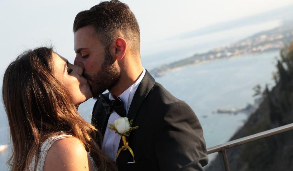 Il matrimonio di Dario e Valeria a Taormina, Messina