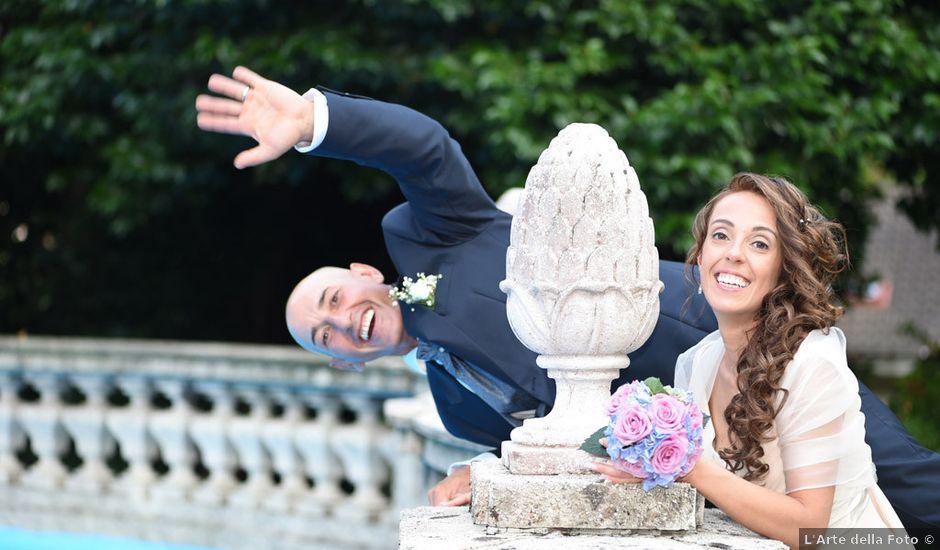 Il matrimonio di Alfio e Maria a Induno Olona, Varese
