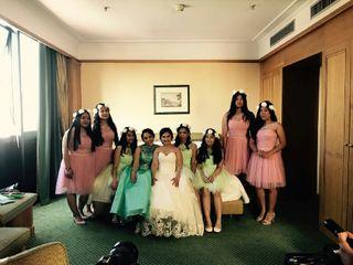 Le nozze di Bernadette e Emmannuel Roy 1