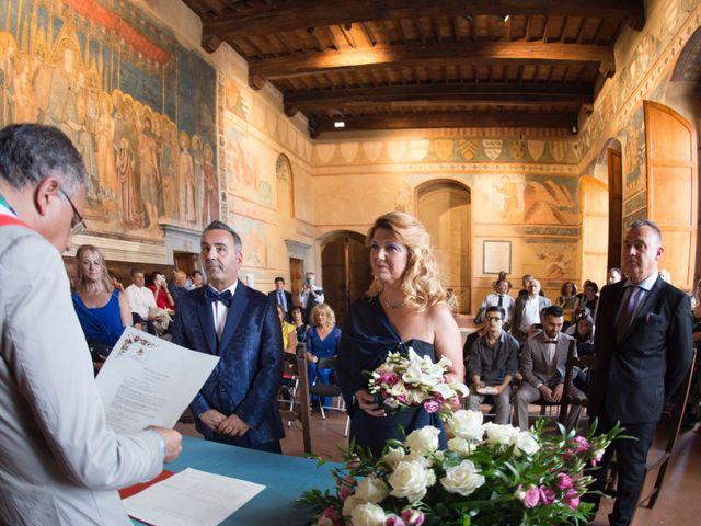 Il matrimonio di Franco e Miriam a San Gimignano, Siena 14