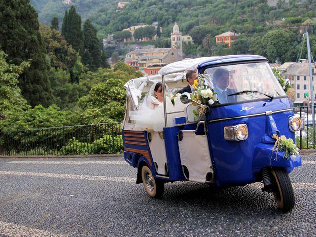 Il matrimonio di Alberto e Giulia a Portofino, Genova 13