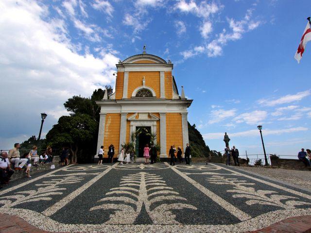 Il matrimonio di Alberto e Giulia a Portofino, Genova 14