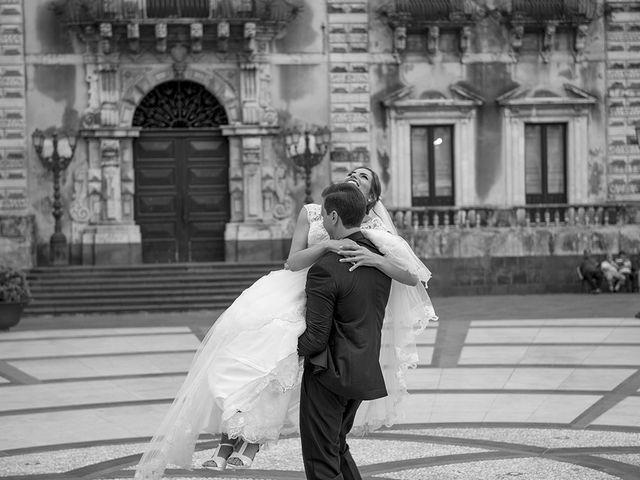 Il matrimonio di Roberta e Davide a Aci Catena, Catania 1