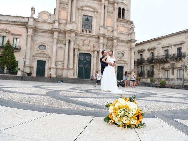 Il matrimonio di Roberta e Davide a Aci Catena, Catania 36