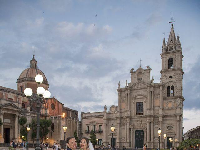 Il matrimonio di Roberta e Davide a Aci Catena, Catania 37