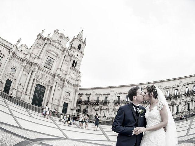 Il matrimonio di Roberta e Davide a Aci Catena, Catania 38