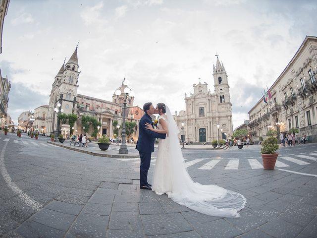 Il matrimonio di Roberta e Davide a Aci Catena, Catania 39