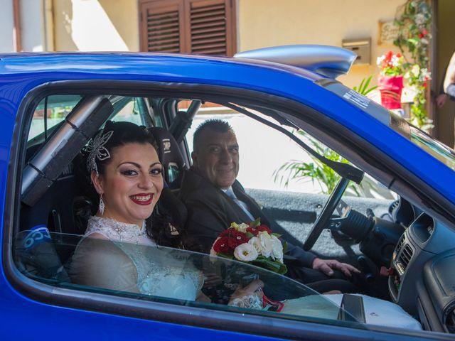 Il matrimonio di Jessica e Santino a Messina, Messina 9