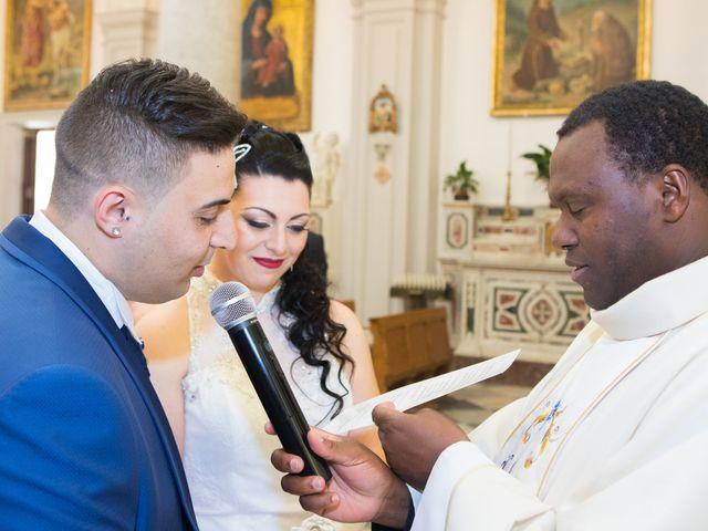 Il matrimonio di Jessica e Santino a Messina, Messina 14