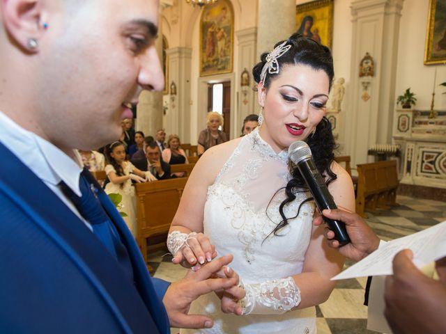 Il matrimonio di Jessica e Santino a Messina, Messina 16