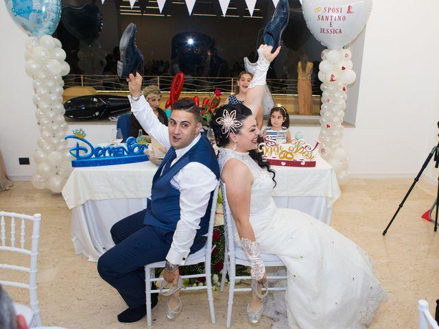 Il matrimonio di Jessica e Santino a Messina, Messina 52
