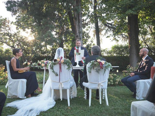 Il matrimonio di Federico e Emanuela a Coccaglio, Brescia 115