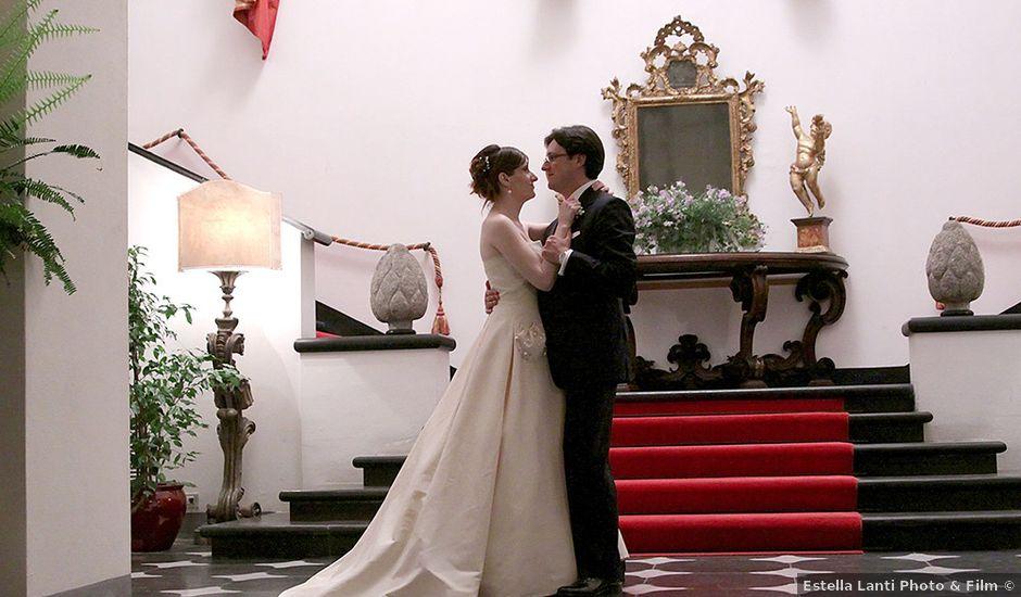 Il matrimonio di Alberto e Giulia a Portofino, Genova
