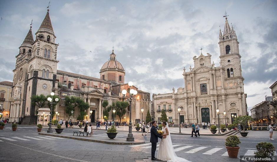 Il matrimonio di Roberta e Davide a Aci Catena, Catania