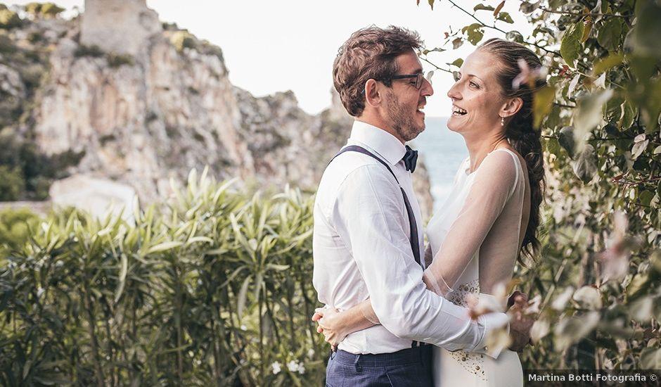 Il matrimonio di Angel e Marta a Castellammare del Golfo, Trapani