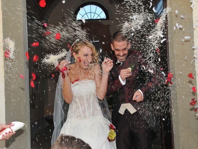 Il matrimonio di Marco e Vanessa a Lari, Pisa 23