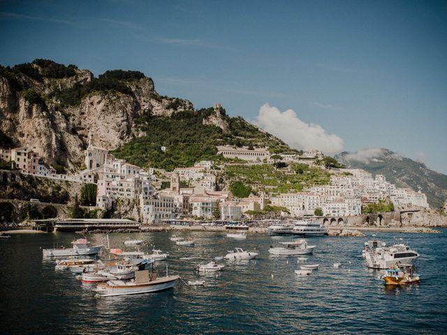 Il matrimonio di Joshua e Sally a Amalfi, Salerno 16