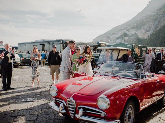 Il matrimonio di Joshua e Sally a Amalfi, Salerno 30
