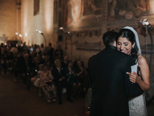 Il matrimonio di Vincenzo  e Laura a Bagno a Ripoli, Firenze 1