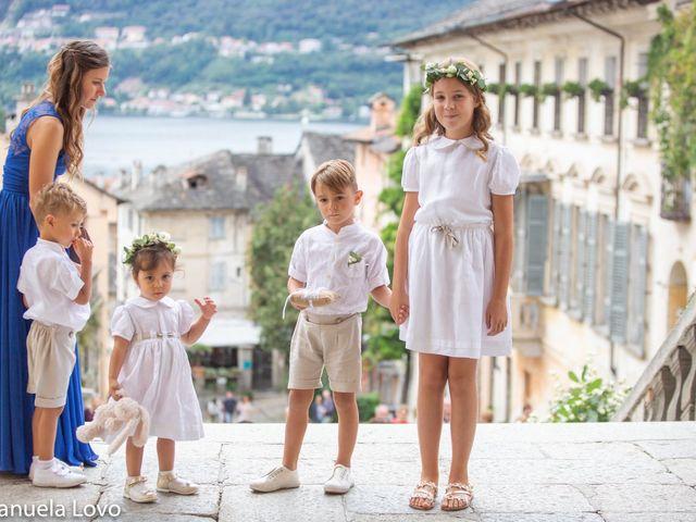 Il matrimonio di Pietro e Greta a Orta San Giulio, Novara 8
