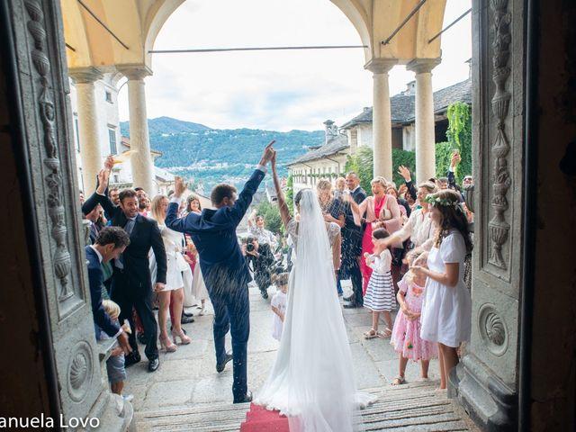 Il matrimonio di Pietro e Greta a Orta San Giulio, Novara 9