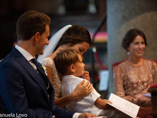 Il matrimonio di Pietro e Greta a Orta San Giulio, Novara 16