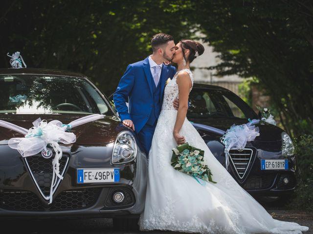 Il matrimonio di Luca e Giada a Cavour, Torino 47