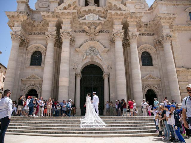 Il matrimonio di Carmine e Angela a Siracusa, Siracusa 33