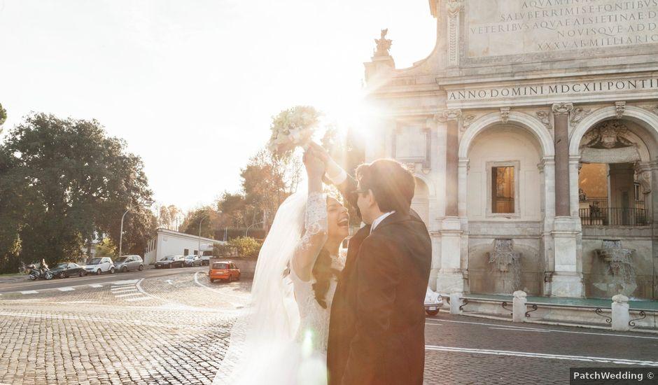 Il matrimonio di Antonio e Virginia a Roma, Roma