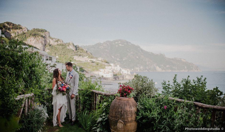 Il matrimonio di Joshua e Sally a Amalfi, Salerno